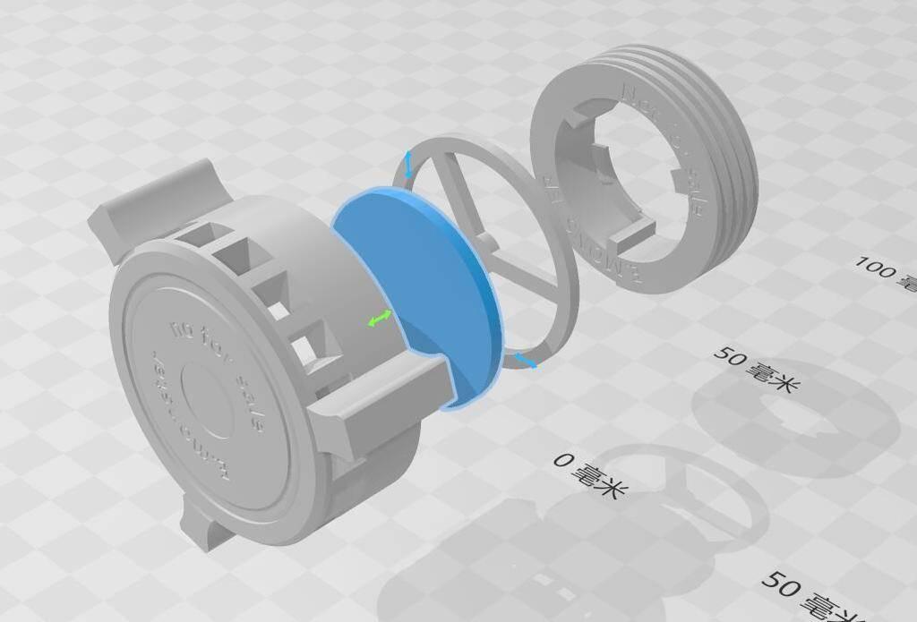 3M防毒面具替换滤棉-3D打印文件-10ARTCC