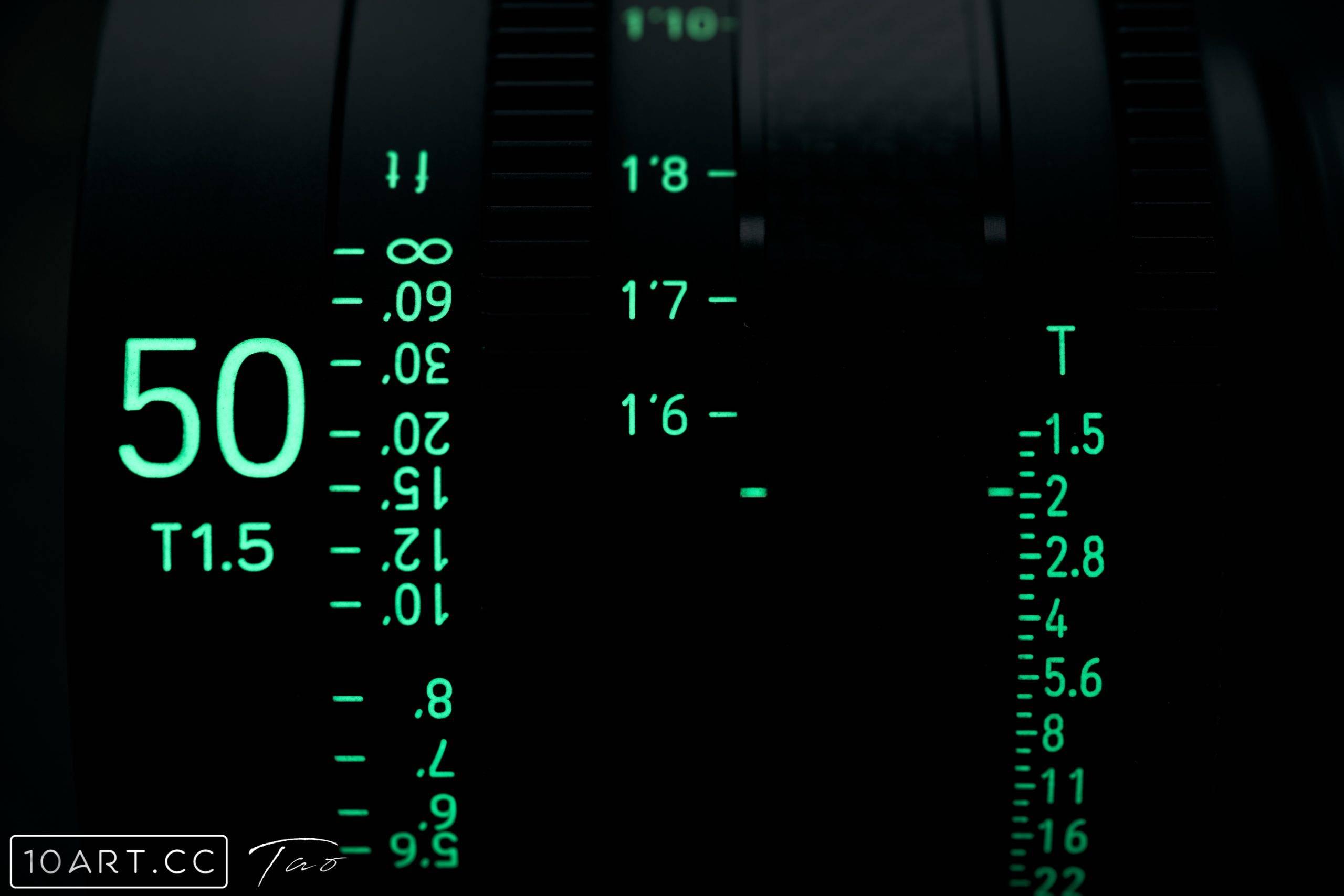 XEEN CF 电影镜头 50T1.5 体验分享-10ARTCC