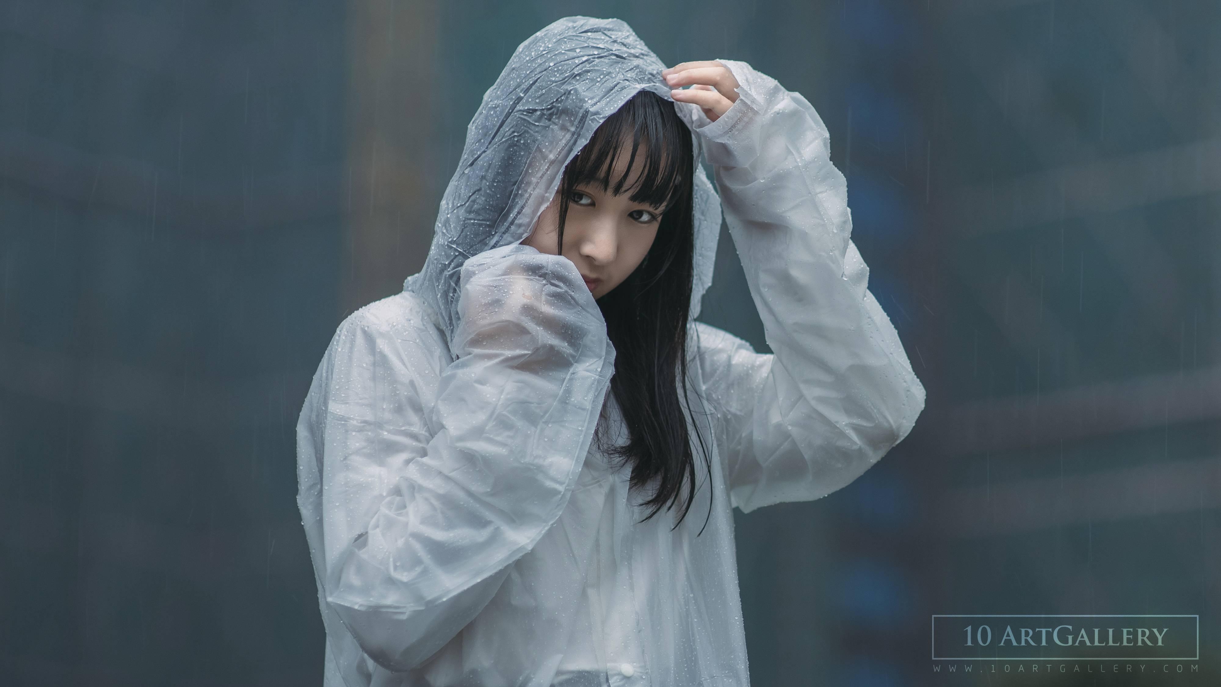 摄影师教你如何用十分钟,在下雨天的小区给女友拍写真-10ARTCC
